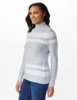 Stripe Tunic Sweater - 4