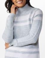 Stripe Tunic Sweater - 5