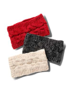Cable Knit Braided Head Wrap - 4