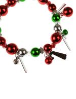 Candy Cane Charm Bracelet - Multi - Back