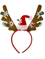 Reindeer Headband - Multi - Front