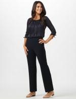 Roz & Ali Secret Agent Pull On Tummy Control Pants - Short Length - 13