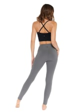 Butt Lifting Legging - Charcoal - Back
