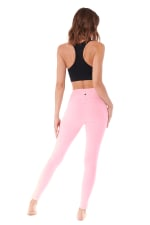 Butt Lifting Legging - Blush - Back