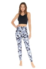Revolutionary Legging - Charcoal - Front