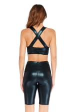 Limitless Shine Bra - Black - Back
