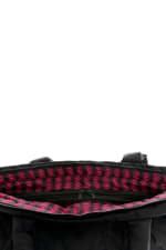Karma Ultra Light Allover Bolt Bag - Black - Detail