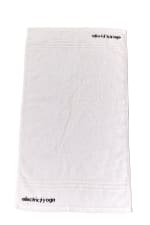 Sweat It Up Gym Towel - White - Front
