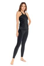 Luxy Velvet Flocked Legging - 4
