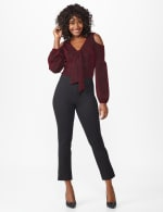 Ponte Pull On  Ankle Pant - 6
