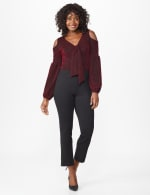 Ponte Pull On  Ankle Pant - 7