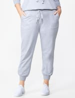 DB Sunday French Terry Jogger - Plus - Grey - Front