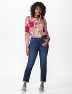 Westport Signature  Girlfriend/Boyfriend 5 Pocket Jean with Double Rolled Cuff - 7