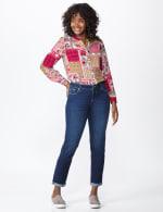 Westport Signature  Girlfriend/Boyfriend 5 Pocket Jean with Double Rolled Cuff - 6
