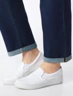 Plus Westport Signature Girlfriend/Boyfriend 5 Pocket Jean with Double Rolled Cuff - Plus - 4