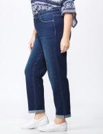 Plus Westport Signature Girlfriend/Boyfriend 5 Pocket Jean with Double Rolled Cuff - Plus - 3