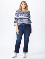 Plus Westport Signature Girlfriend/Boyfriend 5 Pocket Jean with Double Rolled Cuff - Plus - 6