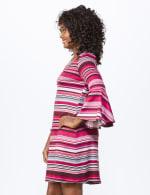 Marina Stripe Soft Knit Dress - 4