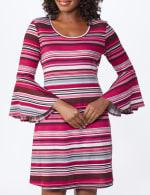 Marina Stripe Soft Knit Dress - 5