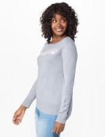 Roz & Ali Sparkle Pullover Sweater - 4