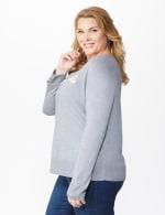 Roz & Ali Sparkle Pullover Sweater - Plus - 4