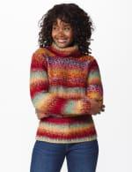 Roz & Ali Ombre Pullover Sweater - 7