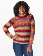 Roz & Ali Ombre Pullover Sweater - 6