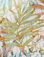 Palm Print Lace Kimono - Plus - 3