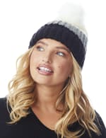Colorblock Beanie Winter Hat - 3