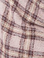 Textured Plaid Scarf - 3