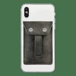 Phone Flipper Wallet - Fossil Grey - Back