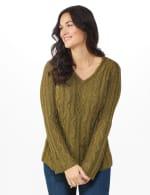 Westport Novelty Yarn Stitch Interest Sweater - 6