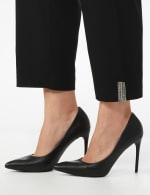 Plus Roz & Ali Superstretch Pull On Ankle Pant With Crystal Heat Seal Trim - Plus - 4