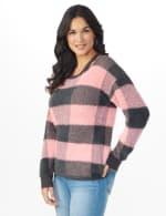 Westport Eyelash Cutout Neck Pullover Sweater - 4