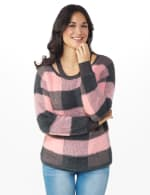 Westport Eyelash Cutout Neck Pullover Sweater - 6