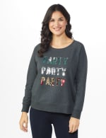 DB Sunday Party Sequin French Terry Sweatshirt - 6