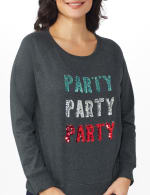 DB Sunday Party Sequin French Terry Sweatshirt - 5
