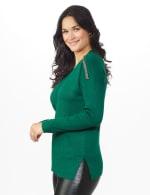 Beaded Sweater Tunic - 3