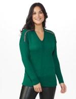 Beaded Sweater Tunic - 5