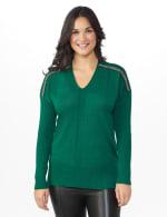 Beaded Sweater Tunic - 1