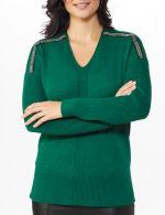 Beaded Sweater Tunic - 4