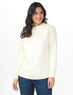 Westport Cable Detail Curved Hem Sweater - 6
