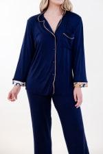 One Spirit Classic Long Pajama Set - 3