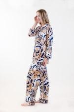 Exotic Long Pajama Set - 4