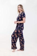 Golden Vine Pajama Set - 3
