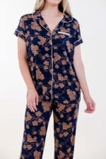 Golden Vine Pajama Set - 4