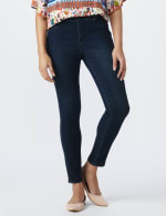 Tall Westport Signature High Rise Pull on Jegging - Misses - Rinse - Front