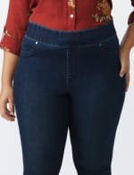 Plus Tall Westport Signature High Rise Pull on Jegging Jean - Plus - 5