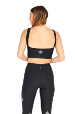 Star Light Star Bright Bra - Black - Back