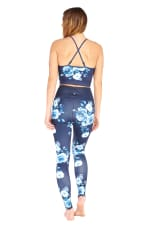 Vera Flower Legging - Navy - Back
